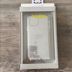 Heyday iPhone 11 Pro Clear Phone Case